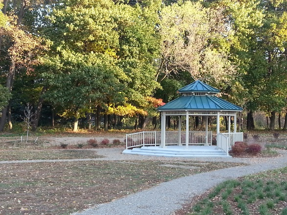Gazebo at Flesher Field